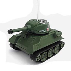 Réservoir Tank-78 1:78 Voitures RC  Vert PrêtRéservoir Télécommande/Transmetteur Chargeur de batterie Manuel d'Utilisation Batterie pour