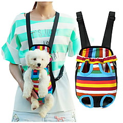 Cat / Dog Carrier Pet Front Backpack Travel Free Your Hands Colorful / Leopard / Cute Nylon / Cotton Multicolor