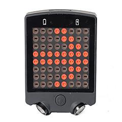 Pyöräilyvalot LED LED Pyöräily Kauko-ohjain ladattava Kompakti koko Hätä Litium-paristo 50~100 Lumenia Patteri USB