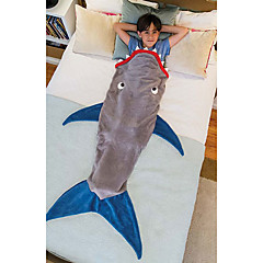 Shark Sleeping Bag / Blanket  Travel  Keep Warm Travel Rest Cotton