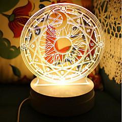 Lampe de table-Nouveauté-Plastique-LED