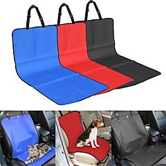 Gato / Perro Cobertor de Asiento Para Coche Mascotas Impermeable / Plegable Rojo / Negro / Azul / Beige Textil