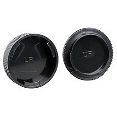 כיסוי עדשה + כובע גוף מצלמה אחורי dengpin עבור Leica R3 R4 R5 R6 R7 R8 R9