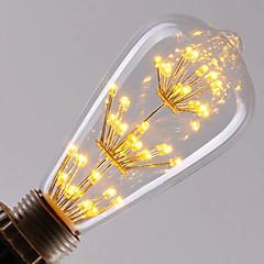 E27 ST64 LED Vintage Edison LED Filament Bulb Retro Incandescent Light (AC220-240V)