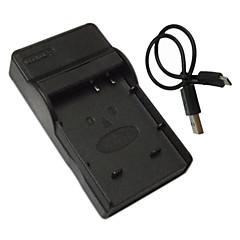 파나소닉 bcf10 전자 bck7 DMC-FS6 FS7 FS15 FS25 TS1 FX40를위한 마이크로 USB 모바일 카메라 배터리 충전기를 bcf10e