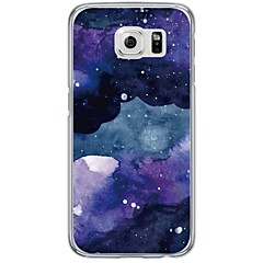 Til samsung galaxy s7 s7 kant flise mønster blød ultra tynd tpu bagcover s4 s5 s6 s6 kant s6 kant plus