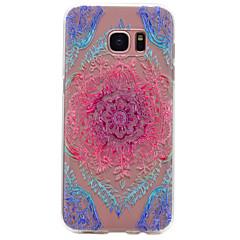 Samsung galaxy s8 plus s6 väri pitsi kuvio tpu korkea puhtaus läpikuultava pehmeä puhelimen kotelo s7 s6 reuna s5 s4 s3 s8