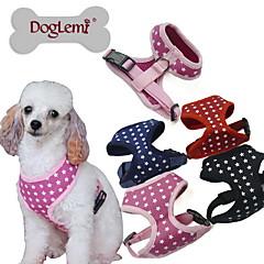 honden harnassen Verstelbaar/Uitschuifbaar Sterren Zwart / Groen / Blauw / Roze Stof