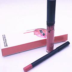 Lipgloss Mat Vloeistof Exfoliators & Scrubs Meerkleurig 1set Others/Others