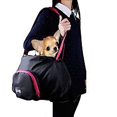 고양이 강아지 캐리어&여행용 배낭 슬링 백 애완동물 캐리어 휴대용 솔리드 블랙 그레이
