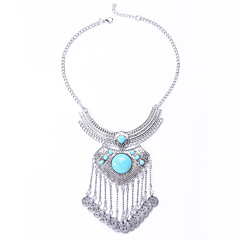 Women's Turquoise Turquoise Alloy Fashion Euramerican Birthstones Silver Jewelry Wedding Party Halloween Daily Casual 1pc