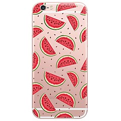 For iPhone 7 etui iPhone 6 etui iPhone 5 etui Ultratyndt Gennemsigtig Etui Bagcover Etui Tegneserie Blødt TPU for AppleiPhone 7 Plus