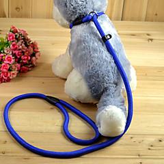 Γάτες Σκυλιά Λουριά Κοντός οδηγός για σκύλους Προσαρμόσιμη/Τηλεσκοπικό Μονόχρωμο Κόκκινο Μαύρο Μπλε Δερματί Νάιλον
