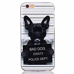 For iPhone 7 Case / iPhone 6 Case / iPhone 5 Case Ultra-thin / Pattern Case Back Cover Case Dog Soft TPU AppleiPhone 7 Plus / iPhone 7 /