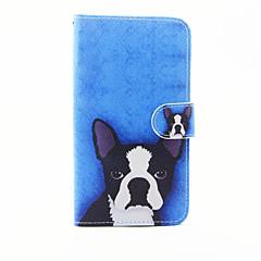 Do lg g5 wzór psa pu skórzane etui na wszystkie etui ze stojakiem i gniazdem kart do lg g5
