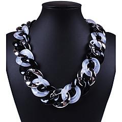 Halsband Icke sten Choker-Halsband Smycken Bröllop / Party / Dagligen / Casual / Sport Sexig / Mode Legering / Silikon Silver 1st Present