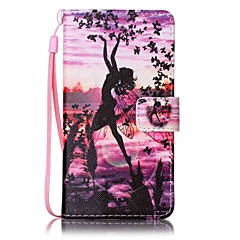 For Sony Case Wallet / Card Holder / with Stand / Pattern Case Full Body Case Sexy Lady Hard PU Leather for SonySony Xperia XA / Sony