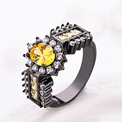 amethyst Wedding Engagement Ring wholesale finger ring cz diamond luxury hot Princess jewelry