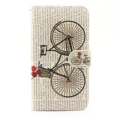 wiko lenny 3 lenny 2 용 자전거 패턴 pu 가죽 전신 케이스 wiko lenny 2 lenny 3 sunset 2 용 스탠드 및 카드 슬롯