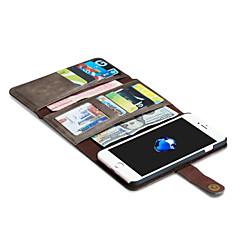 Varten iPhone 7 kotelo / iPhone 7 Plus kotelo / iPhone 6 kotelo Lomapkko / Korttikotelo / Origami / Magneetti Etui Kokonaan peittävä Etui