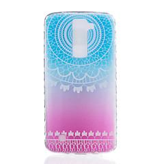 Til lg k7 k8 øvre halvcirkel mønster tpu materiale meget gennemsigtig telefon taske til lg k7 k8 k10 g5