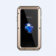 Voor iPhone 7 hoesje iPhone 6 hoesje iPhone 5 hoesje Hoesje cover Schokbestendig Volledige behuizing hoesje Schild Hard Metaal voor Apple