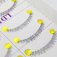 Kirpikleri Kirpik Alt Kirpikler Eyes Çapraz Elyapımı Fiber Transparent Band 0.10mm 6mm