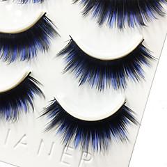 Kirpikleri Kirpik Tam Şerit Kirpikler Eyes Kalın Renkli Hacimlendirilmiş Elyapımı Fiber Black Band 0.07mm 13mm