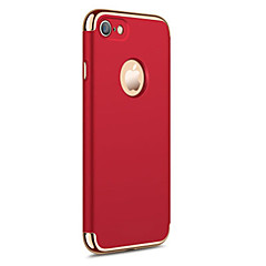 Voor iPhone X iPhone 8 iPhone 7 iPhone 6 iPhone 5 hoesje Hoesje cover Beplating Achterkantje hoesje Effen Kleur Hard PC voor Apple iPhone