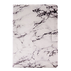 For Apple iPad Air 2 Air 4 3 2 PU Leather Material Marble Pattern Pattern Painted Flat Panel Protective Case
