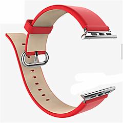 Horloge band voor appelhorloge 38mm 42mm klassieke gesp lederen vervanging band polsband