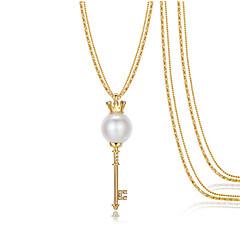Γυναικεία Κρεμαστά Κολιέ Μενταγιόν Crown Shape Κράμα Καρδιά Μοντέρνα Διπλή στρώση Κοσμήματα Για Γάμου Πάρτι Καθημερινά Causal