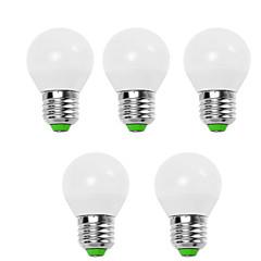 9W E14 / E26/E27 LEDボール型電球 G45 12 SMD 2835 950 lm 温白色 / クールホワイト 装飾用 V 5個
