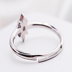 Ring Party Jewelry Rose Gold / Platinum / Gold Women Ring 1set,One Size Silver