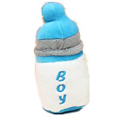 반려동물 장난감 플러시 장난감 소리 장난감 찍찍 소리를 내다 견고함 면 블루 핑크