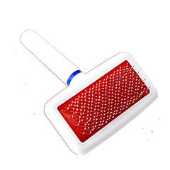 Cane Pulizia Pennelli Animali domestici Prodotti per toelettatura Casual Bianco Plastica