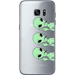 Alien Soft Material For Compatibility TPU For Samsung Galaxy S6 Edge Plus S6 S7 Edge S7