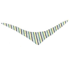 Cat / Dog Bandanas & Hats Multicolor Dog Clothes Spring/Fall Stripe Reversible(03 stripes XS code)