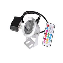 Rgb ac / dc12v 10w we dugó szabályozó adapter ip68 vízálló víz alatti világítás 1pc