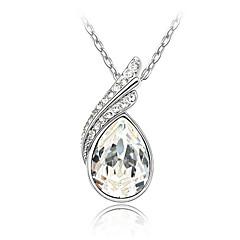 Dames Kristal Kristal Verguld Oostenrijks kristal Hangende stijl Aanbiddelijk Kostuum juwelen Sieraden Voor Feest Dagelijks