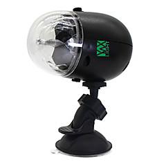 5W Girlande LEDBühnenleuchten Drehbae 1 Hochleistungs - LED 300-400 lm RGB Geräusch aktiviert / Wiederaufladbar / Dekorativ / Wasserdicht