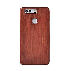 Cornmi varten huawei p9 plus p9 puu bambu kattaa kotelo matkapuhelin puinen houising kuori suojaa