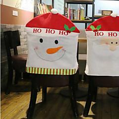 kreatív hóember szék készlet karácsonyi díszek