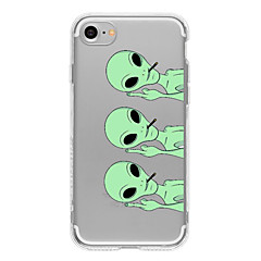 Alien TPU Case For Iphone 7 7Plus 6S/6 6Plus/5S SE