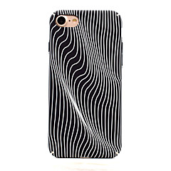 For iPhone 7 7 Plus Smooth Feel Glow in the Dark Pattern Case Back Cover Case Waves Hard PC for iPhone 6s 6 Plus SE 5S 5
