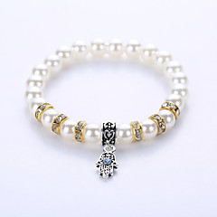 Bracelet Strand Bracelet Hologram Bracelet Bracelet Yoga Bracelet Alloy Imitation PearlParty Halloween Birthday Congratulations Gift