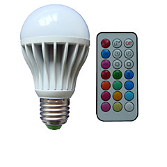 1pcs E26/E27/B22 10W 3X High Power LED Dimmable/Remote-Controlled/Decorative Globe Bulbs AC85-265V