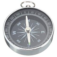 Pocket Mini Camping Hiking Compasses Lightweight Aluminum Outdoor Travel Compass Navigation Wild Survival Tool Black
