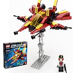 Actionfigurer og kosedyr / Byggeklosser for Gift Byggeklosser Modell- og byggeleke Fighter ABS 5 til 7 år / 8 til 13 år / 14 år og oppover