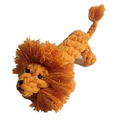 고양이 장난감 강아지 장난감 반려동물 장난감 씹는 장난감 치석제거 장난감 Rope 털실 사자 직물